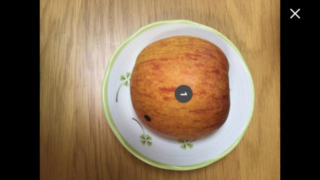 パンに間違えられたりんご