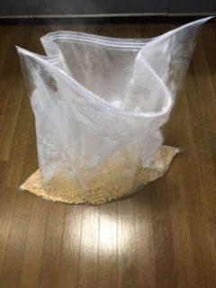 大豆入り布団圧縮袋